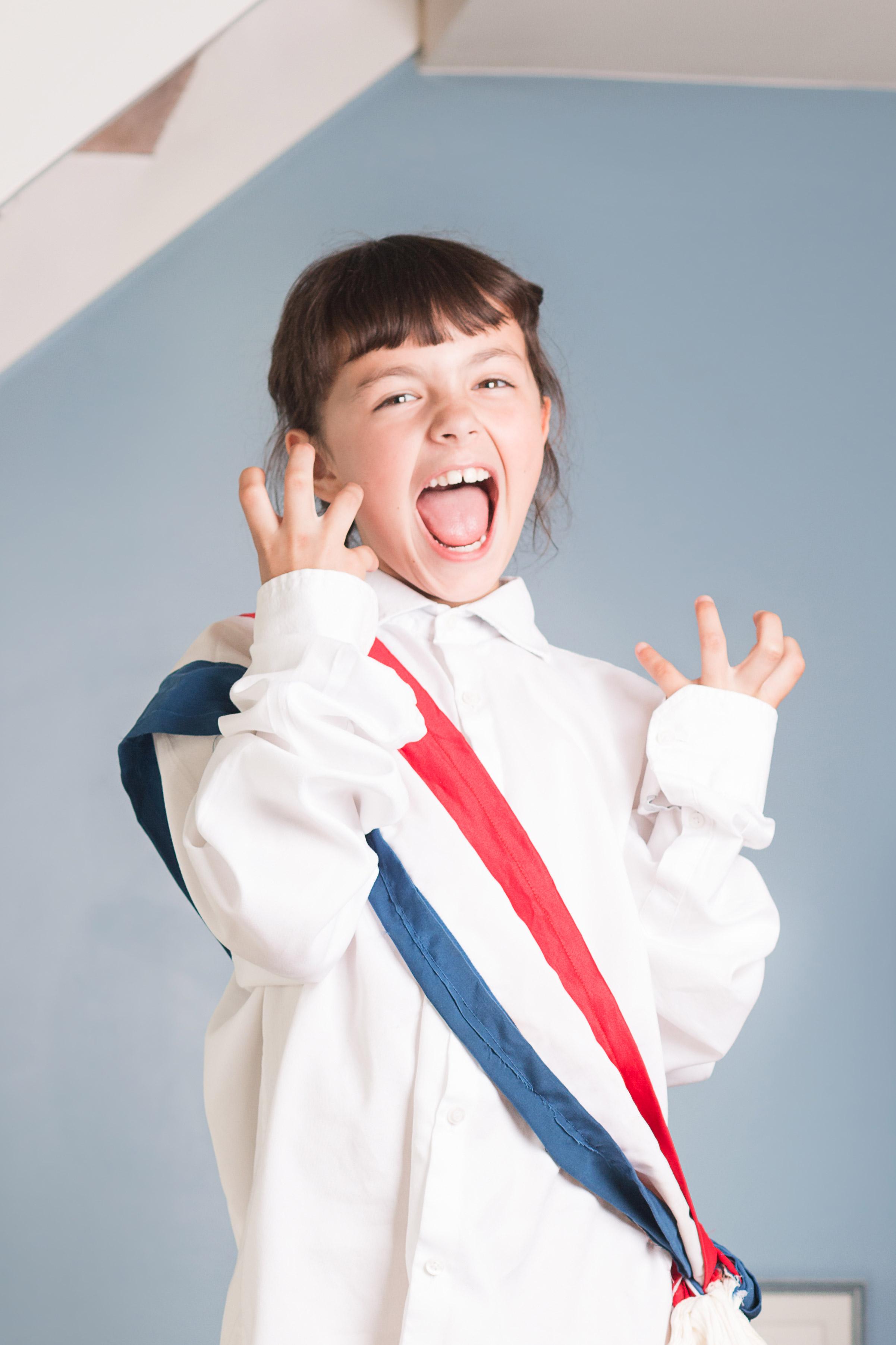 Quand je serais grande je serais présidente: Enora par Lauréline Reynaud