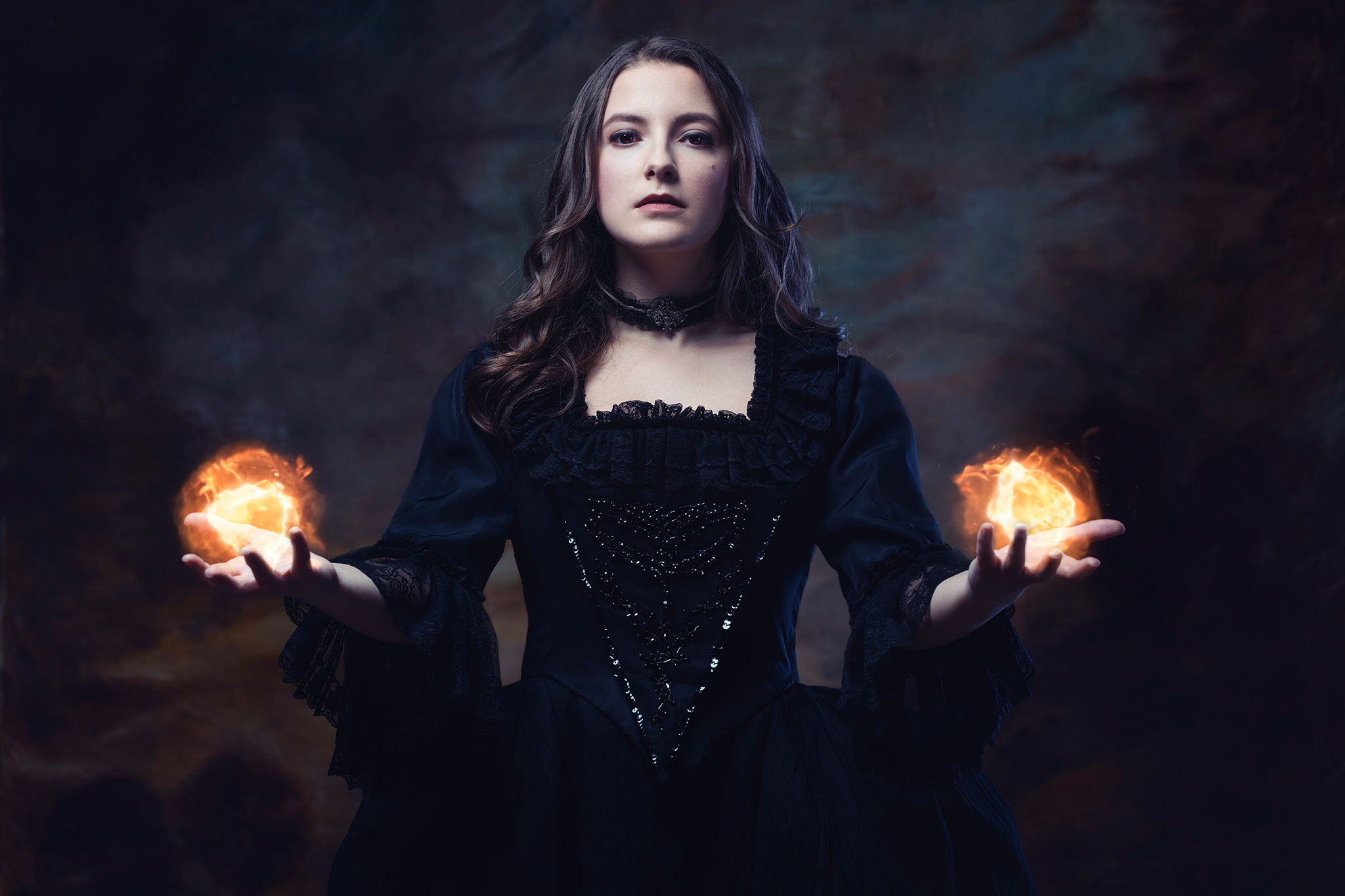 La Völuspá: feu par Lauréline Reynaud